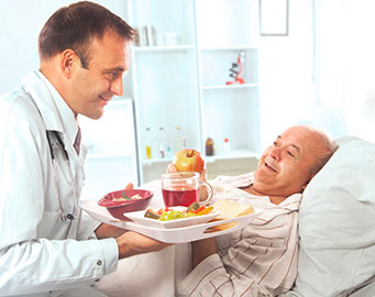 Hospital dishware (commercial products - Ergogrip)