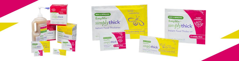 Bannière - Gel épaississant alimentaire Simplythick