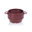 Ergogrip bowl burgundy colour