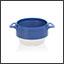 Ergogrip bowl pearl blue (ivory base) colour