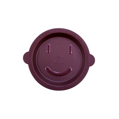 Small reusable lid / Happy face