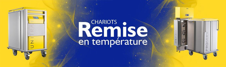 Chariots de remise en température / Convection
