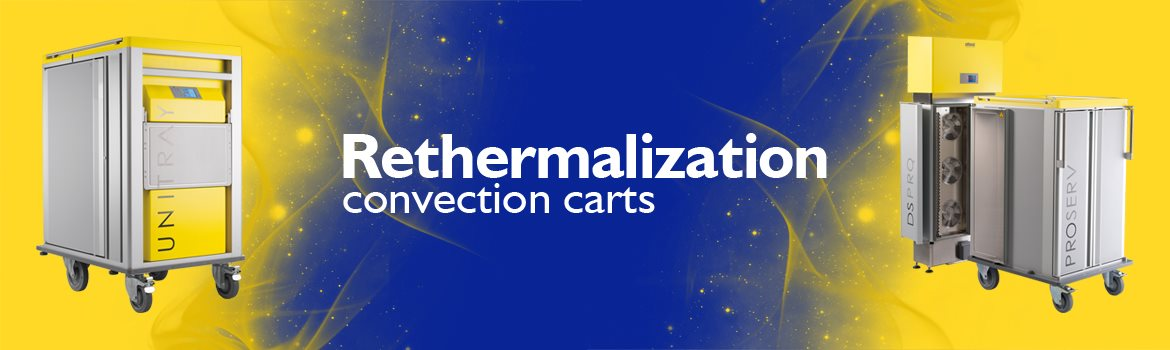 Rethermalization convection carts